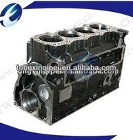 cylinder block for marine diesel engine