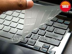 Nano-silver anti-bacteria Ultra thin& high transparency,waterproof &dust proof TPU transparent custom laptop skin guard