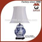 classical blue porcelain desk lamp