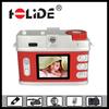 1.8 inch TFT LCD Display 2.0 Mega Pixels retro camera digital camera 4x digital zoom support SD card