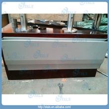frameless glass railing glass fix side mounted aluminum railing base