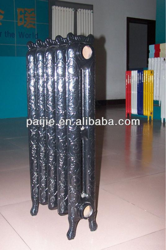 Classic flower cast iron radiator
