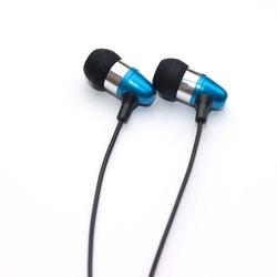 2014 new design light weight metal earphones