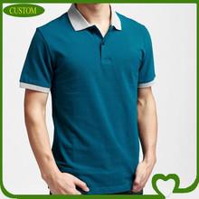 Men's plain shorts sleeve polo, Summer fashion polo shirts wholesale china