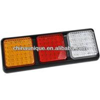 Low Price Universal 12/24V Waterproof Heavy Duty LED Semi Truck Tail Light