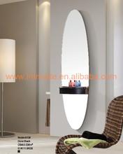 patinted MDF dressing room mirror