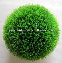 2014 Hot Sales Artificial Grass Ball/Hanging Grass Ball