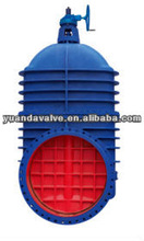 Gear Operated Non-Rising Stem Gate Valve For City Construction