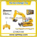 engraçado brinquedos dos miúdos 11ch grande brinquedo do rc construção de caminhões com en71