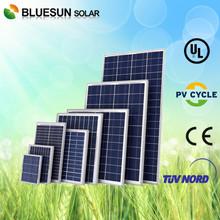 Bluesun good price per watt solar module and solar panel Poly 120W 130W 140W 150W 160W with CE TUV UL cUL