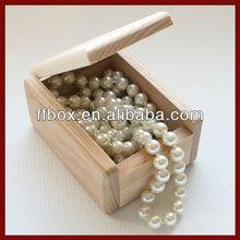 Unfinished Wooden Gift Storage Box For Keepsake