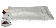 Home use infrared body wrap/ far infrared sauna blanket (CE)Infrared sauna blanket 2-zone heating,slimming saunas blanket