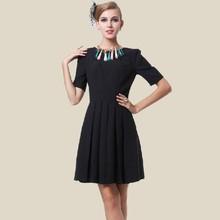 T651004 Pictures designer office wear dresses ladies