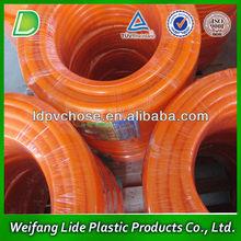 Cheap Orange LPG Gas PVC Soft Pipe Hose