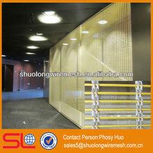 New design! Decorative metal mesh partition screen,inner aluminum curtain