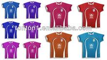 Cheap custom sublimated dry fit soccer jerseys/football jersey