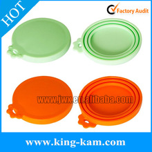 hot selling 100% food grade silicone tin can lids wholesale