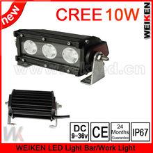 factory sale 4x4 led driving light bar lights 6 INCH 30W Cree 12v