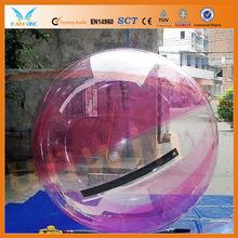 Hot TPU/PVC 2m hi bounce glitter water balls 100mm
