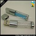 Kristall und metall usb-sticks