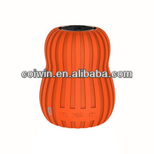 fashionable mini portable pumpkin design micro SD mini music bluetooth speaker orange/brown/blue/green