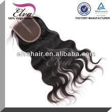 hair factory hot sales purely hand woven cheap virgin brazilian hair closure