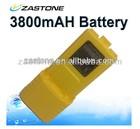 Portable BAOFENG UV-5R Dual Band Two Way Radio Li-ion 7.4V 3800mAh battery PACK Yellow