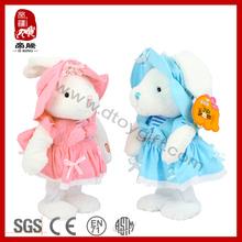 ICTI SEDEX Stuffed dancing singing plush toy electronic rabbit toy
