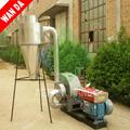 pequeño polvo de arroz cáscara de cenizas y la fabricación de la producción