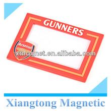 Advertising 3D PVC Magnet Photo Frame/PVC magnet clear photo frame/Fridge magnet photo frame