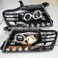 2000-2010 anno pajero montero v73 V75 v76 v77 v78 angel eyes led testa della lampada nera