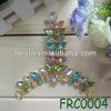 FRC0004 high heel decorative ladies diamond t-shape colorful shoe decorations for sandals