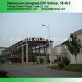 La fábrica más grande de di- fosfato de amonio 18-46-0 dap fertilizantes de yichang en china