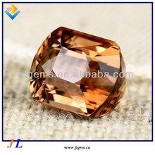 Hot Sale Gemstone Octagon Faceted Cut Natural Golden Topaz Stone