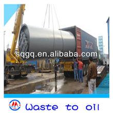 tyre refinery oil pyrolysis machine low price high profit