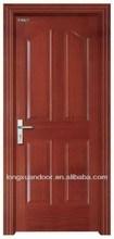 Wooden front door design interior