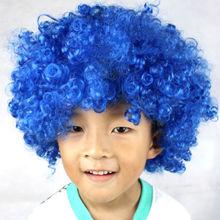 Carnival afro wigs/football fans wigs