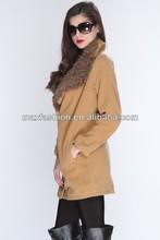 beige faux fur trim stylish varsity jacket wholesale,plain varsity jacket wholesale,jacket wholesale