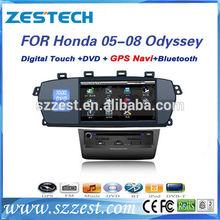 ZESTECH Factory For Honda Odyssey 05-08 car dvd player gps Navigation Touch-Screen,Bluetooth,ipod,TV,Radio,Multi-language,USB