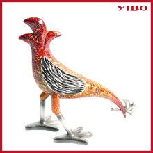 "12.2"" H newest rooster crafts metal garden decor"