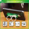 multifunction custom logo advertising finger ring smart phone holder stand support