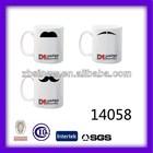 11 oz blank sublimation photo coffee mug for promotional