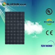 Tempered glass 100w poly solar panels in pakistan karachi
