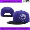 Custom Flat Peak Snapback Hat/Printing Snapbacks/OEM Custom Snapback Hat Small Order