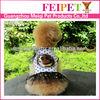 Princess dog cooling vest cotton dog clothes