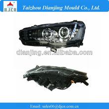 2010 Lancer LED Bi-Xenon Headlamp ,Double Angle Eyes auto lamp,Alibaba Express