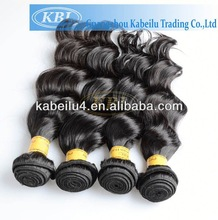 Wholesale price loose wave human hair