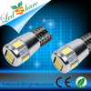Top quality t10//194/w5w car canbus 6 led 5630