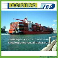 Door to door sea shipment from China to Surabaya Indonesia