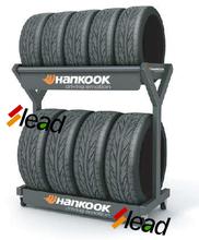 Shop Car Tyres Display Shelves